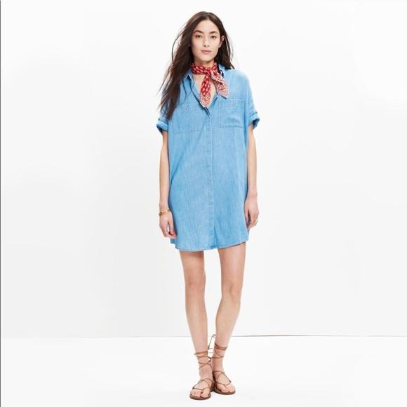 f0d7054a3f ... Courier Shirt Dress Blue XXS. Madewell. M 5b5703da8ad2f9688153d91b.  M 5b5703db951996242444fa52. M 5b5703dc409c1509aad89771.  M 5b59fcb7de6f620a8cb49b4c